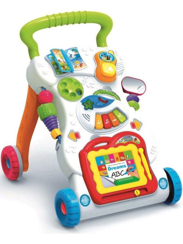 Dětské hrající edukační chodítko Baby Mix hez